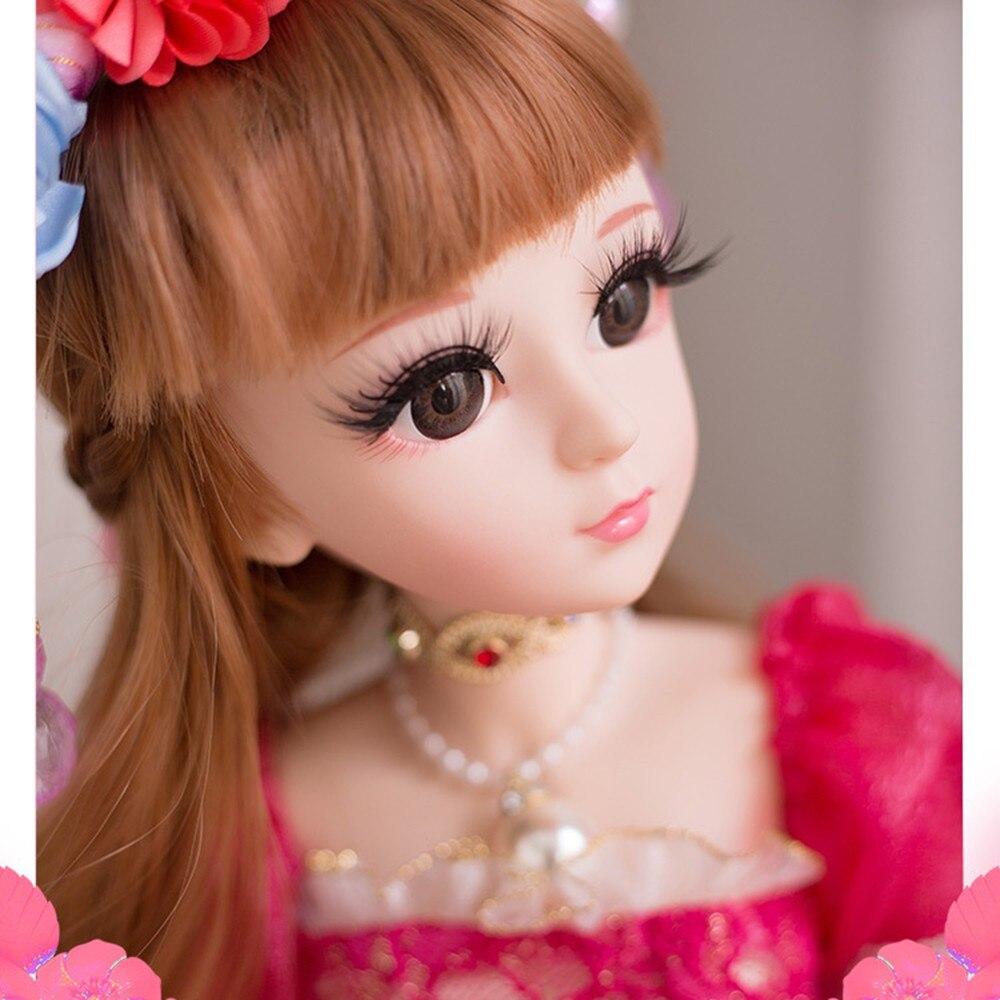 Princesse Sissi 60CM Ouni poupée 19 joint fait main princesse Lori coeur adapté pour les enfants main tenant cadeau fille
