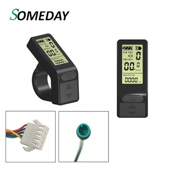 SOMEDAY LCD4 KT Display 36V 48V Kunteng Computer Electric Bicycle Parts LCD Mini Display for Ebike Conversion Kit