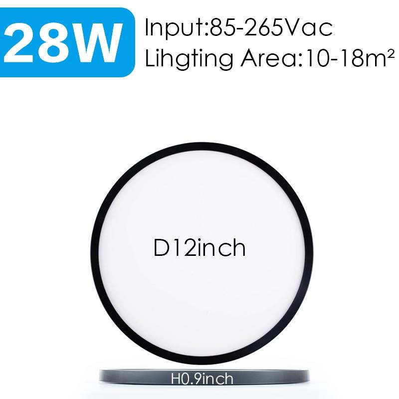 Black-12inch-28W