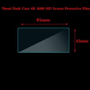 Image 3 - 70Mai داش كام 4K A800 HD لينة نانو المغلفة شاشة واقية ل 70Mai داش كام فيلم نانو برهان فيلم 3 قطعة