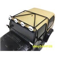 Rc Car Body Roll Cage For 1/10 Rc Crawler Car Tamiya cc01 YJ Wranglers Remote Control Off Road Buggy Diy Accessories Parts