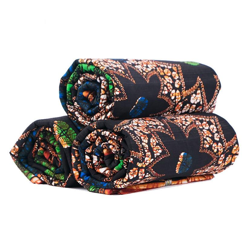 African Print Real Kwanzaa Wax Fabric 6 Yards/Piece Veritable Wax African Veritable Real Nederlands Wax