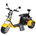 EEC высокое качество ЕС наличии 3-х колесный Электрический мотоцикл 2000 Вт 60v40ah 2 батареи съемный взрослых Citycoco с двухместная качеля