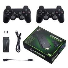 Console do jogo de vídeo da tevê m8 para mame/ps/fc/gb/md/sfc/atar 2.4g controlador dobro sem fio gamepad jogador de jogo retro