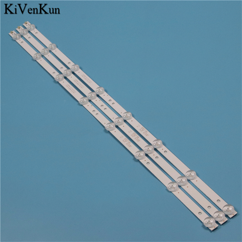 NEW TV Lamps LED Backlight Strips For Philips 32PHT4001/60 HD TV Bars Kit LED Bands 4708-K320WD-A4213K01 KB-6160 K320WD Rulers