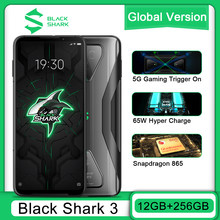 Global Versie Black Shark 3 12G 256G Gaming 5G Mobiele Telefoons Octa Core 4720Mah 6.67