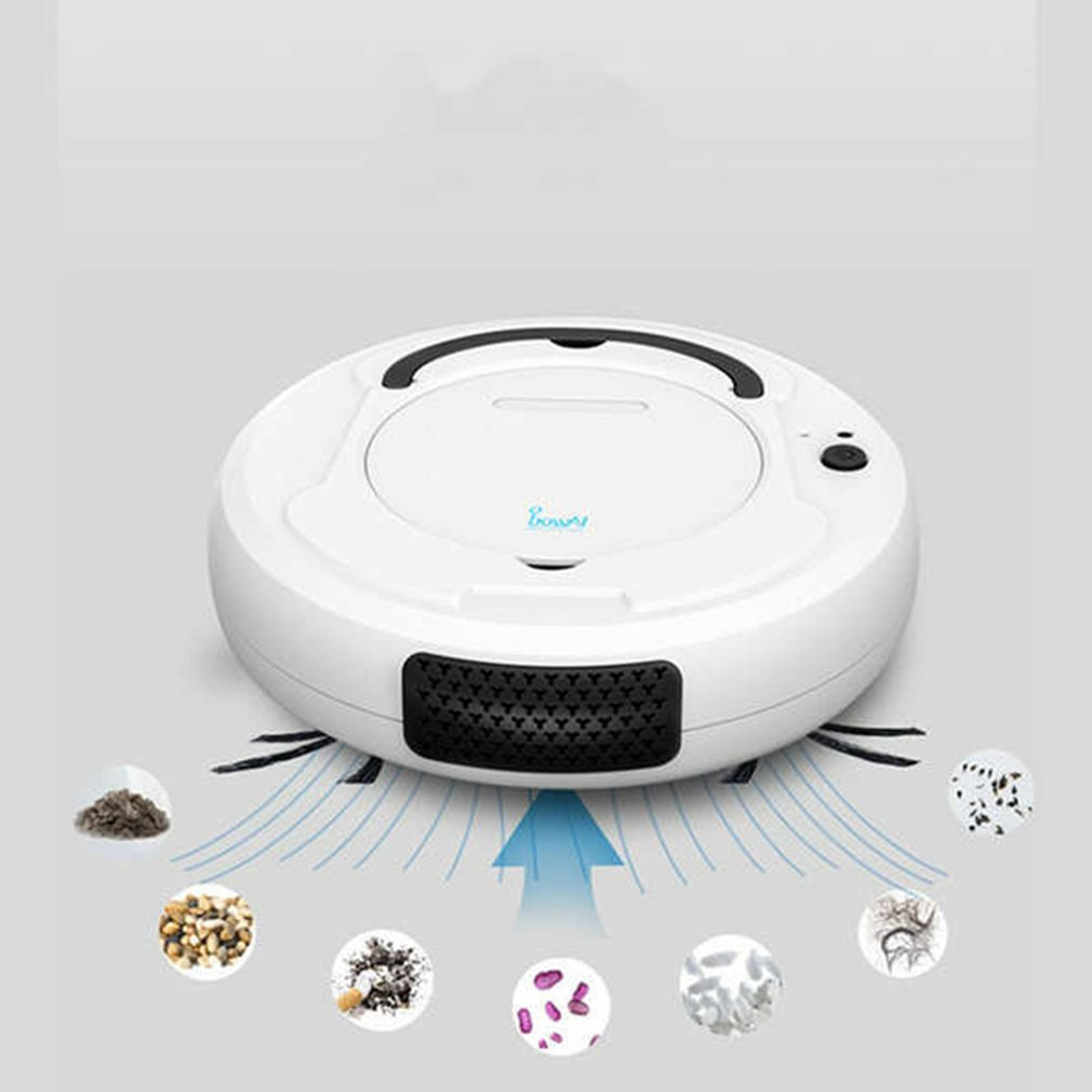 Tod-1800Pa Multifunctional Smart Floor Cleaner,3-In-1 Auto Rechargeable Smart Sweeping Robot Dry Wet Sweeping Vacuum Cleaner