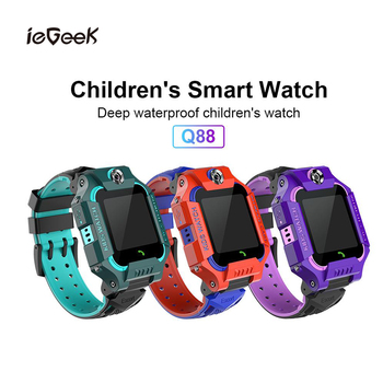 Kids Smart Watch GPS LBS Location Tracking SmartWatch SIM Card Two-way Call SOS Call Remote Camera Alarm Anti Lost Kids Watches genboli gps tracker children watch anti lost sos call kids smart watch child watch tracking bracelet smartwatch support sim card