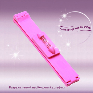 DIY 1 pc New Women Hair Trimmer Fringe Cut Tool Clipper Comb Guide for Cute Hair Bang Level Ruler Hair Accessories