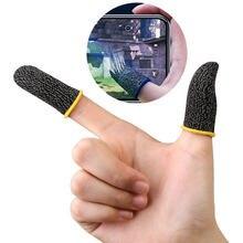 Luva do dedo do jogo respirável dedos para pubg jogos móveis tela de toque dedo berços cobrir sensível ao toque móvel txtb1