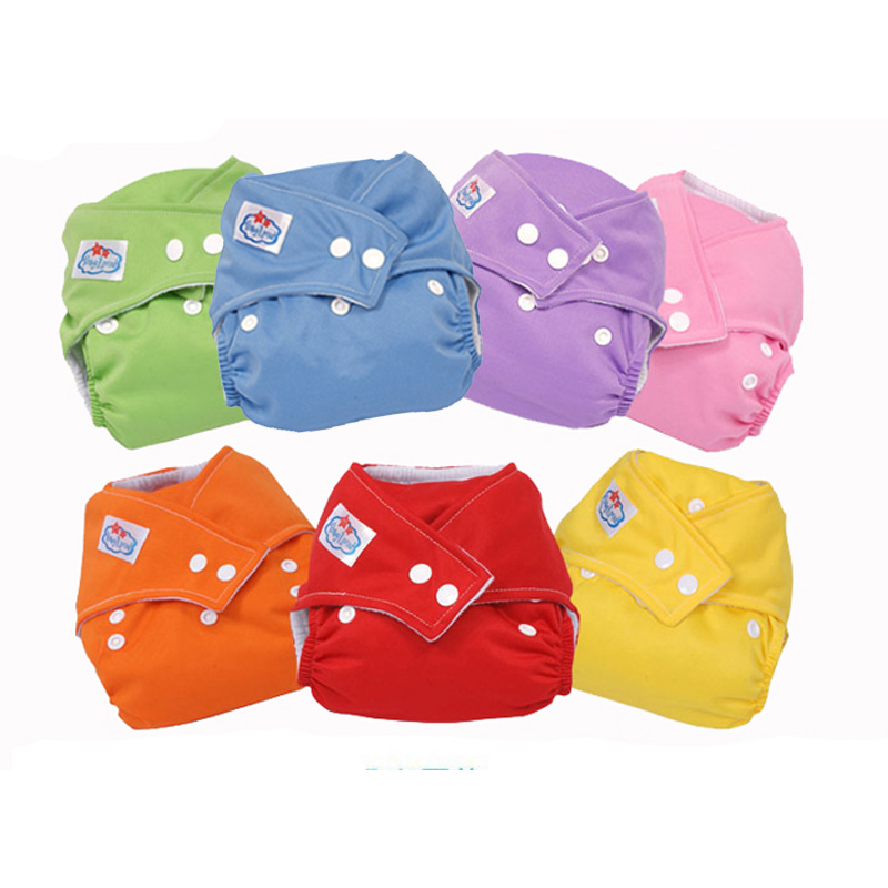 New Baby 9 Colors Washable Cloth Babyland Diaper Nappy  Hot Sales