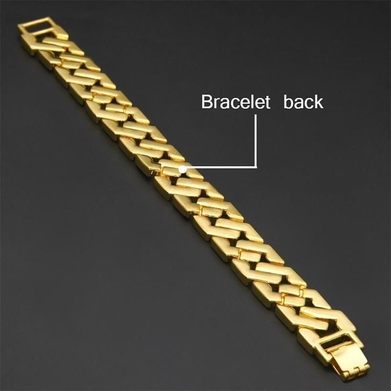 Rhinestone Cuban Bracelet Iced Out Link Chain for Men Hip Hop Paved CZ Rapper Bling Luxur Bracelet Jewelry Accessories Gift