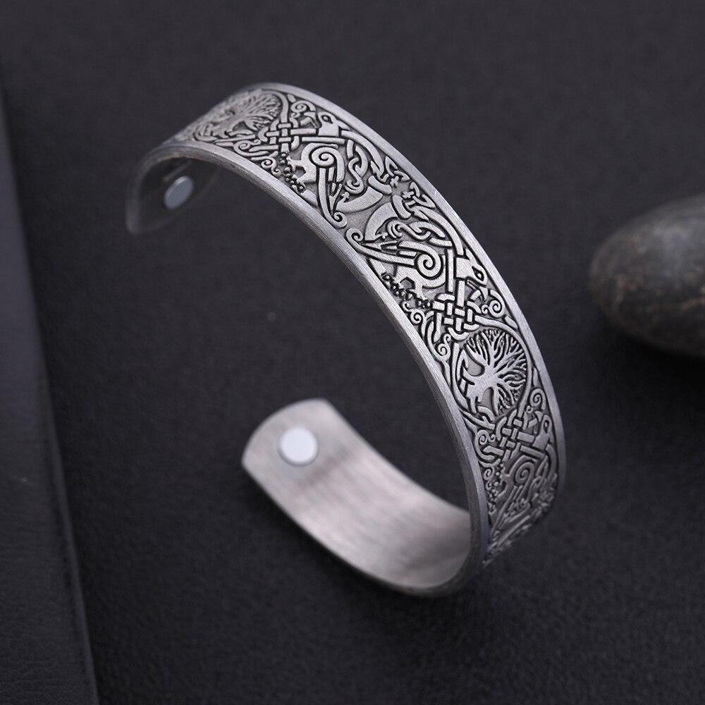 Bracelet de santé arbre de vie chance noeud Runes 6