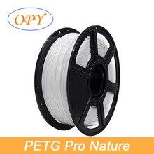 PETG Filament 1.75mm 1 kg 3d Printer Pet-g 10m Sample Transparent Nature Black Red Green Blue