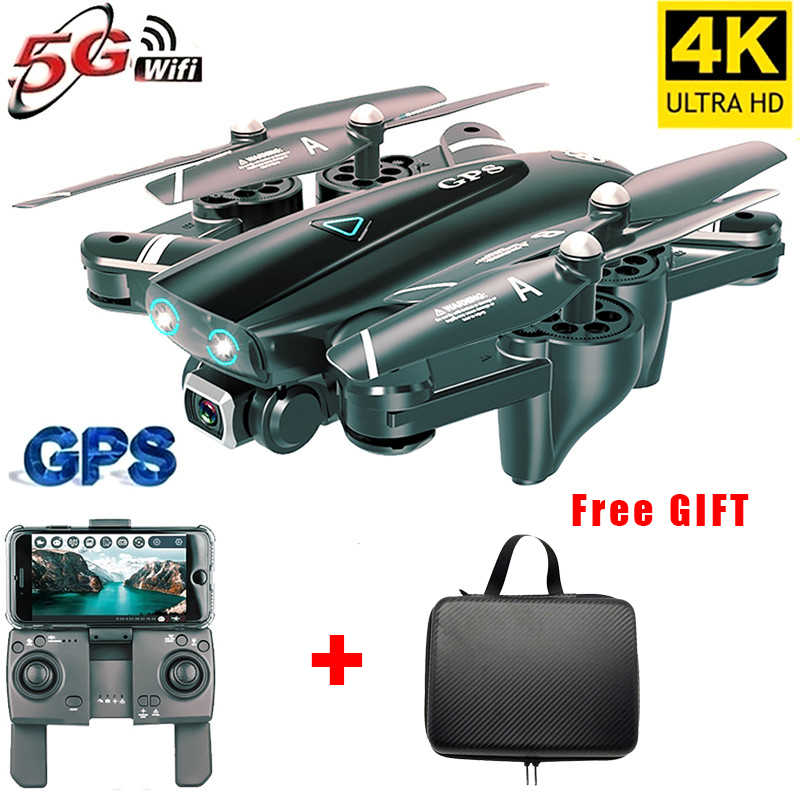 s167 Rc Drone 4K HD Camera Gps Drones 5G WiFi FPV 1080P Quadcopter No Signal Return Remote control Helicopter Toy Flight 20 Mins