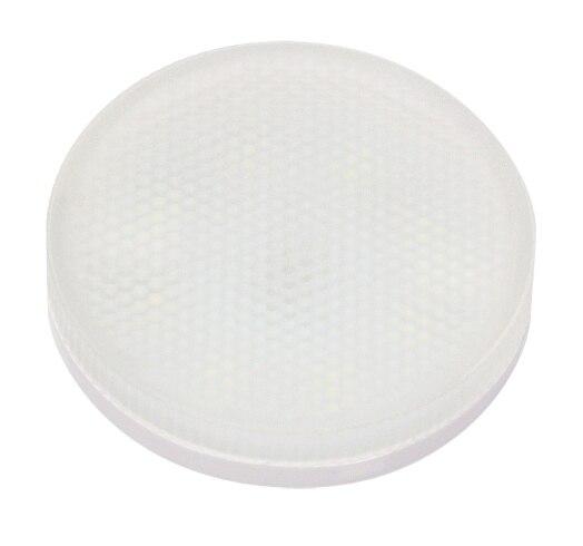 Jazzway Лампа светодиодная (LED) «таблетка» d75мм GX53 130° 8Вт 220-230В матовая нейтральная холодно-белая 5000К .2855404