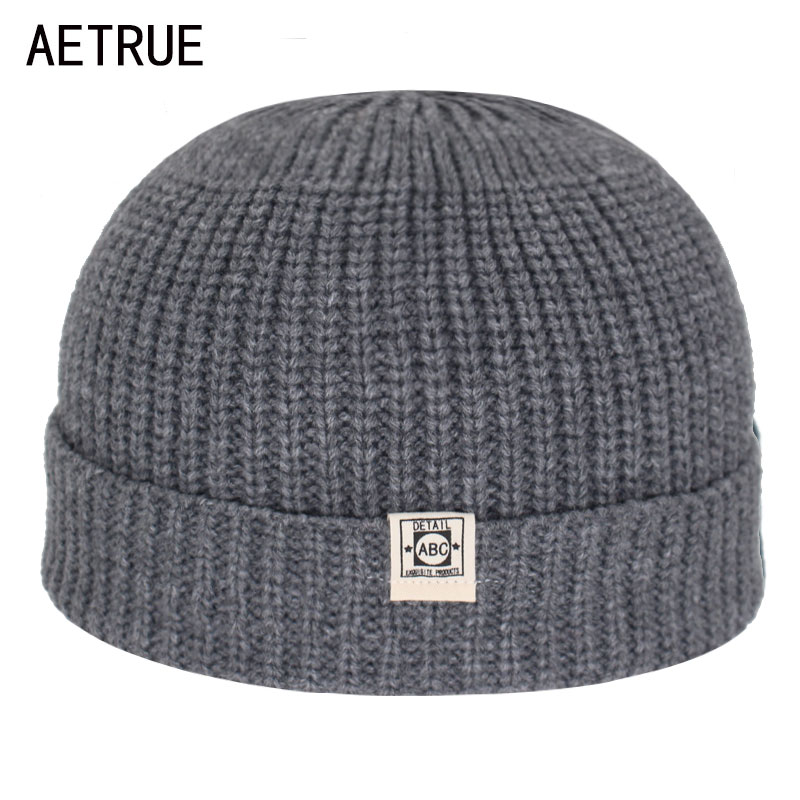 Short Winter Hats For Men Skullies Beanies Men Winter Beanie Hat Women Caps Miki Docker Skullcap Bonnet Women Knitted Hat Cap