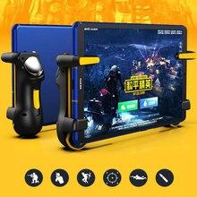 PUBG Ipad kontroler wyzwalacza pojemność L1R1 przycisk ognia przycisk Gamepad Joystick dla Ipad tablet/telefon FPS akcesoria do gier
