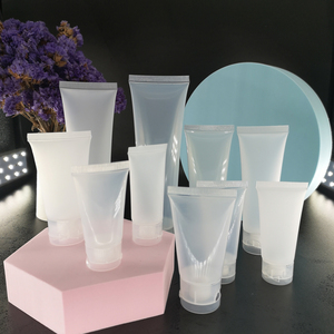 5pcs 15ml 30ml 50ml 100ml Empty Plastic Portable Tubes Squeeze Cosmetic Lotion Travel Bottle Hand Cream Gel Sample Containers