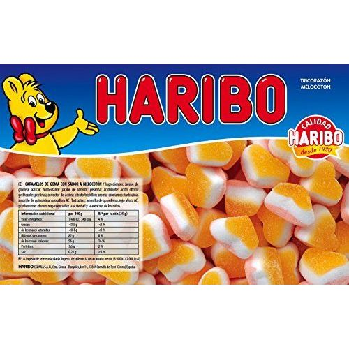 Haribo Peaches Hearts 1.0 Kg