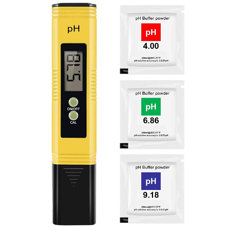 Цифровой измеритель PH /TDS/ EC, тестер, термометр, фильтр чистоты воды для гидропоники для аквариума, бассейна, инструмент для контроля качеств...