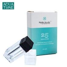Hydra Microneedling 25 Pin Derma Roller 0.25mm Titanium Tips Stamp for Facial Body Skin Care Skin Regeneration