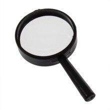 Дропшиппинг от 1 шт. Чтение 5X Лупа ручной увеличительное 25 мм стекло ручной Лидер продаж