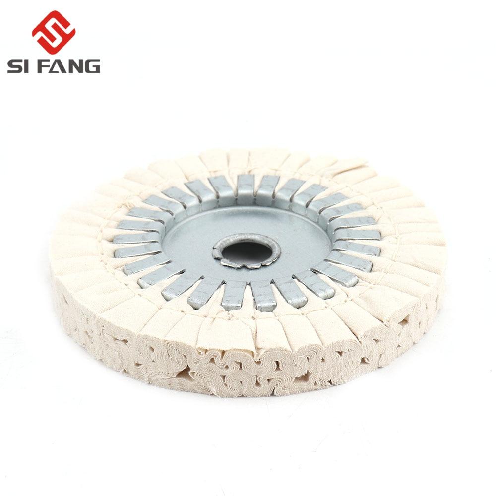"Airway Polishing Buff Buffing Wheel Biased Cloth 100/% cotton ; 16/"" diameter"