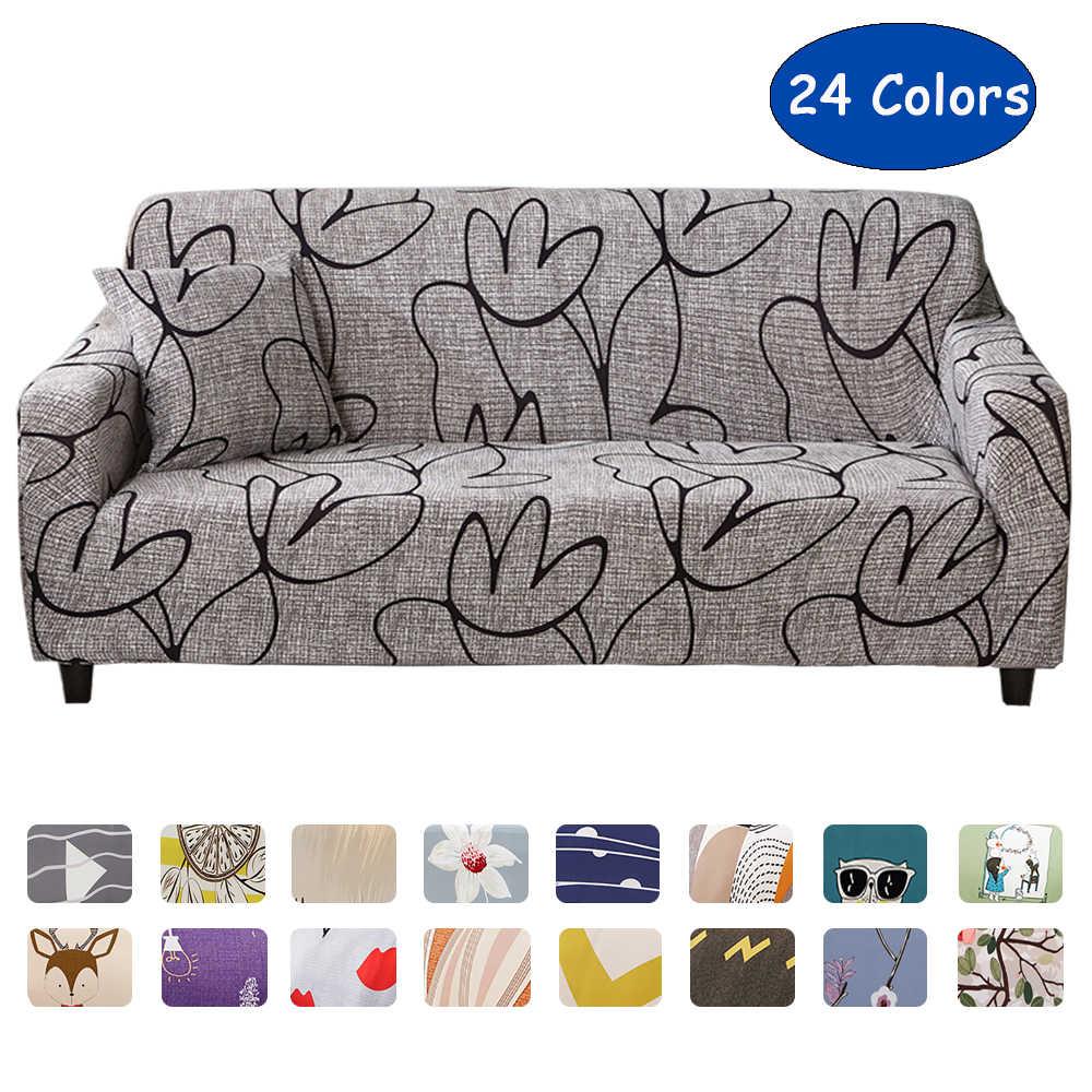 Stretch Sofa Cover Slipcovers Elastic