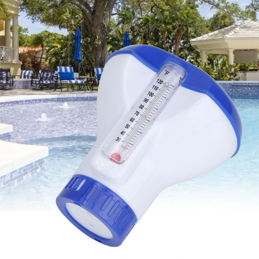 Floating Swimming Thermometer Pool Pond SPA Water Temperature Measuring Scale UK