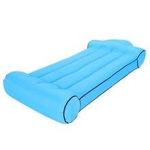 Mattress Lazy-Sleeping-Bag Inflatable-Bed Outdoor Portable Beach Sofa Pillow Lifer Super-Light