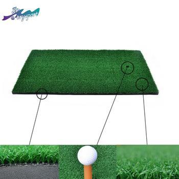 цена на Golf Mat Backyard Grassland Practice Tent Golf pad sportTraining Hitting Pad Practice Rubber Tee Holder
