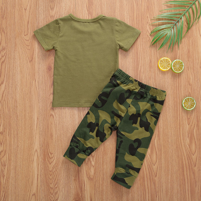 Pudcoco US Stock Infant Baby Boys Clothes Sets Brother Short Sleeve Romper Top+Pants Hats 3Pcs Boy Girl Summer Clothes Outfit 6