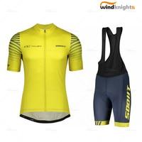 Mens cycling clothes  scott rc 팀 10 짧은 소매 저지 2020 여름 저지 ropa ciclismo 도로 자전거 의류 사이클링 반바지 젤|사이클링 세트|   -