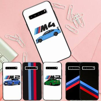 Bmw blue red sports luxury brand case coque fundas for samsung galaxy S8 S9 S10e S20 PLUS J6 J600 cases cover image