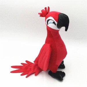 Image 5 - ใหม่น่ารักRio Parrot Plush Toy Stand Up Parrotตุ๊กตาตุ๊กตาตุ๊กตาตุ๊กตาของเล่นตุ๊กตานกแก้วนกตุ๊กตาของเล่น4สี