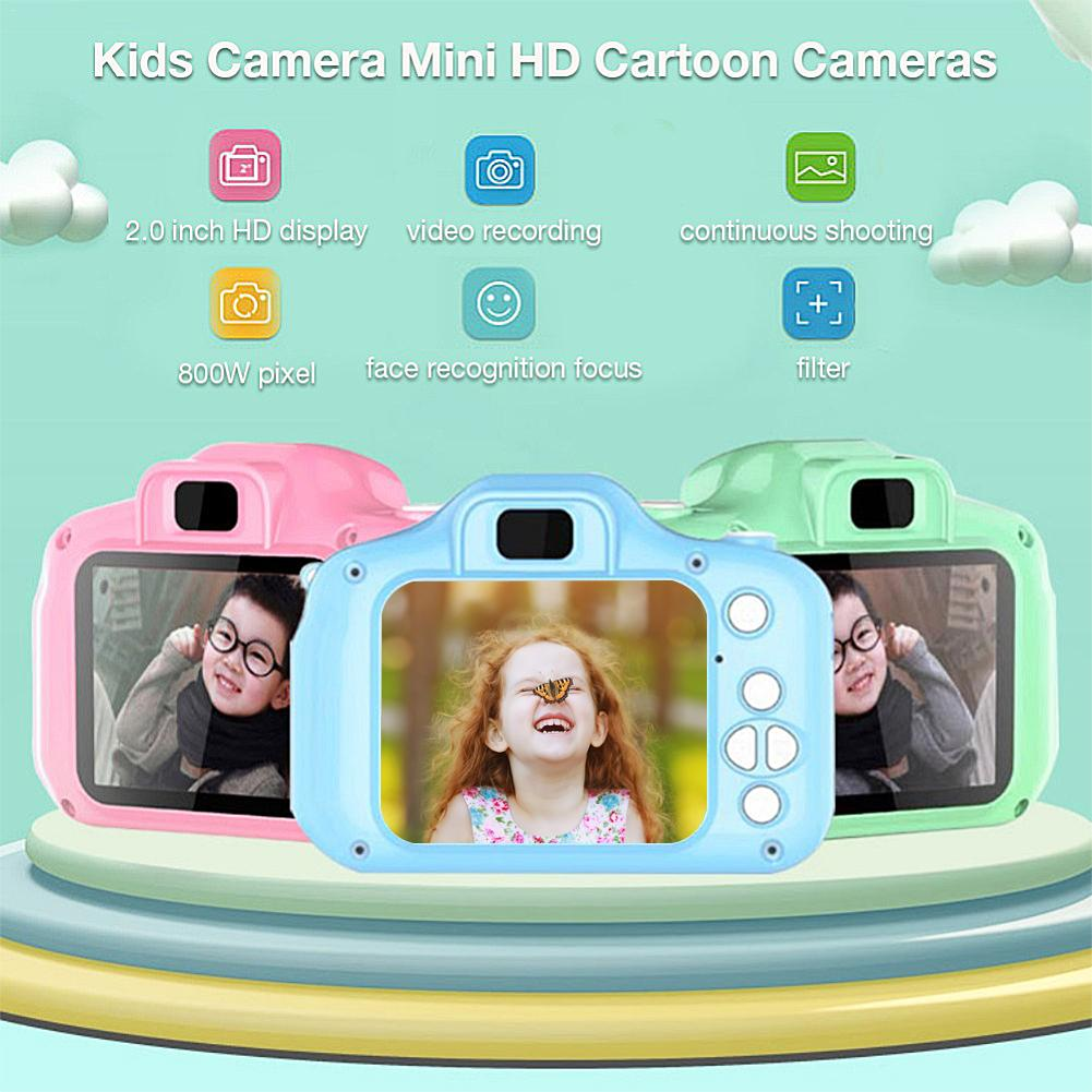 HOT SALE TFT 2.0 Inch Kids Educational Toys Digital HD Screen 1080P Video Camera Color Display Children Baby Birthday Gift