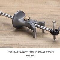 2 em 1 linear arc scriber carpintaria ferramenta de marcação calibre scribers linha paralela ferramenta de desenho diy ferramentas trabalho madeira scribe