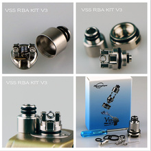 Hippopotame Vape VSS RBA V1 V2 V3 bricolage reconstructible atomiseur bobine Kit adapté pour artère Pal 2 Vape Pod Ecig accessoires