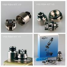 Kit de bobina de vapeo hipopótamo VSS RBA V1 V2 V3, bricolaje atomizador reconstruible, compatible con Artery Pal 2, accesorios para cigarrillo electrónico