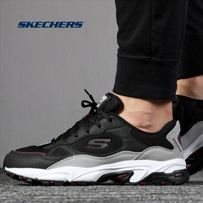 moral Médico Hablar en voz alta  Zapatos Deportivos Skechers para hombre, zapatos ligeros para correr,  zapatos casuales gruesos de malla, zapatos para caminar de lujo de marca de  hombre 51706 BKGY Zapatos informales de hombre  - AliExpress