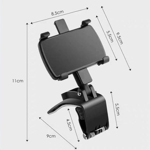 Image 2 - Car Phone Holder Universal Cell Phone Gps Car Dashboard Mount Phone Holder Stand Clip 360 Degree Rotatable Support