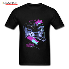 Star War Lord T Shirt For Man Black Tshirt Galaxy T-shirt Awesome Fashion Clothing Students Tops Team Tees 100% Cotton