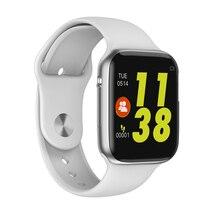 IWO10 Bluetooth Call Smart Watch W34 ECG Heart Rate Monitor IWO 9 Smartwatch Fit