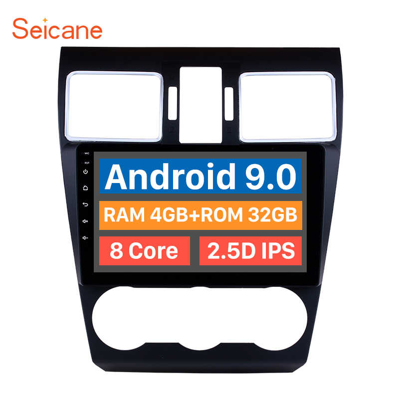 "Seicane 9""Android 9.0 8 core 2din GPS Navigation Multimedia Player Car Radio Stereo Head For 2014 2015 2016 Subaru WRX forester"