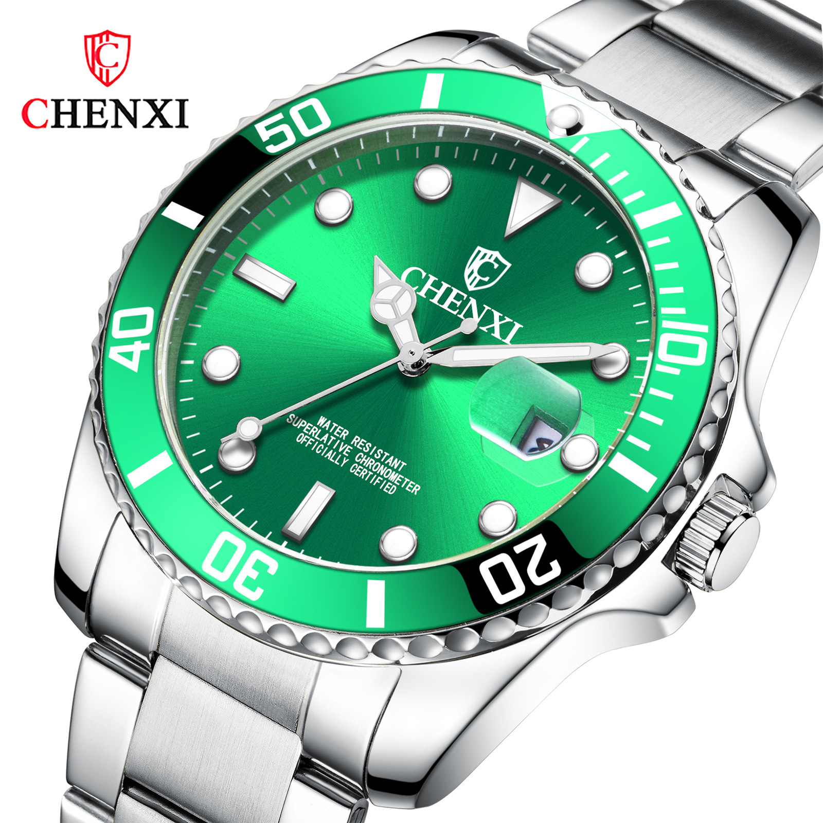 Fashionable Fashionable Person Watch CHENXI Brand Waterproof Couple Watch Douyin Hot Style Water Ghost Watch Man