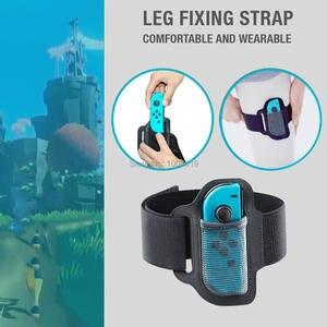 Image 4 - Bande de jambe réglable de sangle de Sport élastique résistante à lusure réglable légère pour des remplacements daventure dajustement danneau de commutateur
