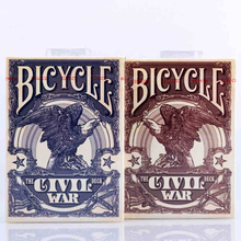 1 deck Bicycle Civil War Playing Cards Regular Deck Rider Back Card Magic Trick Props