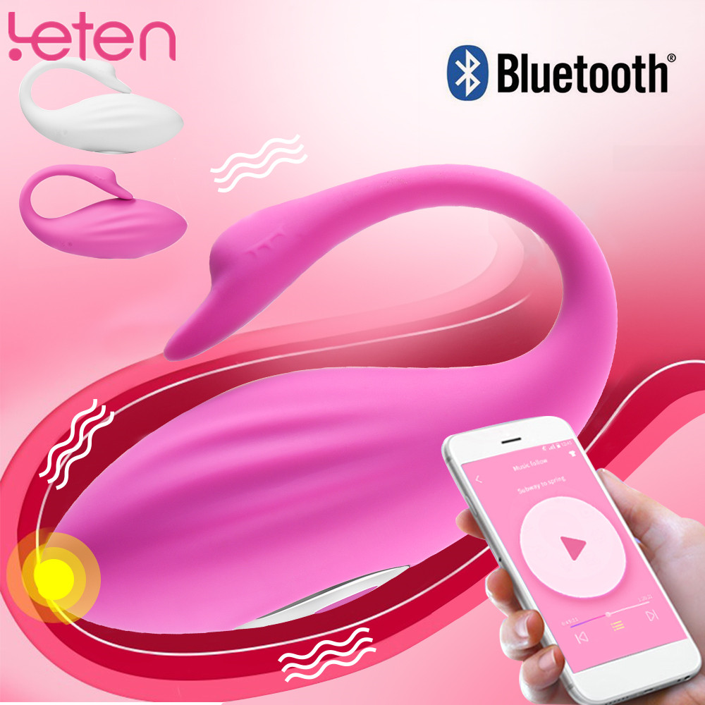 Silicone Bluetooth Vibrator USB Charge Panties Vagina Ball Wireless Control Clitoris Stimulator 7 Speed Erotic Sex Toy For Women