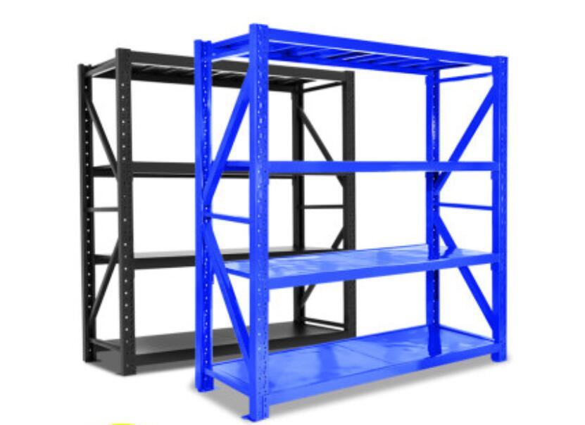Shelving Warehouse, Household Thickened Shelving, Display Storage, Multi-layer Storage, Heavy Goods Iron Shelving